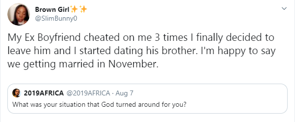 South African lady set to marry her ex-boyfriend's brother lindaikejisblog 1
