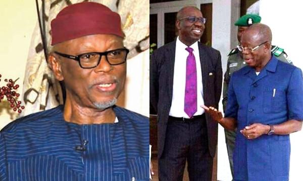 Nobody knows why Obaseki and Oshiomhole are fighting Oyegun lindaikejisblog