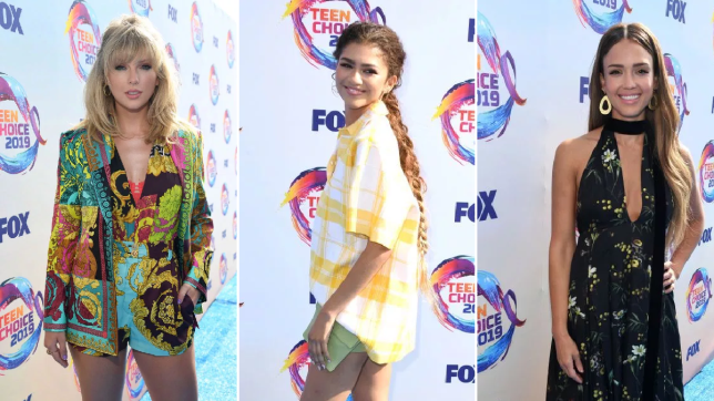 Red carpet moment from 2019 Teen Choice Awards lindaikejisblog