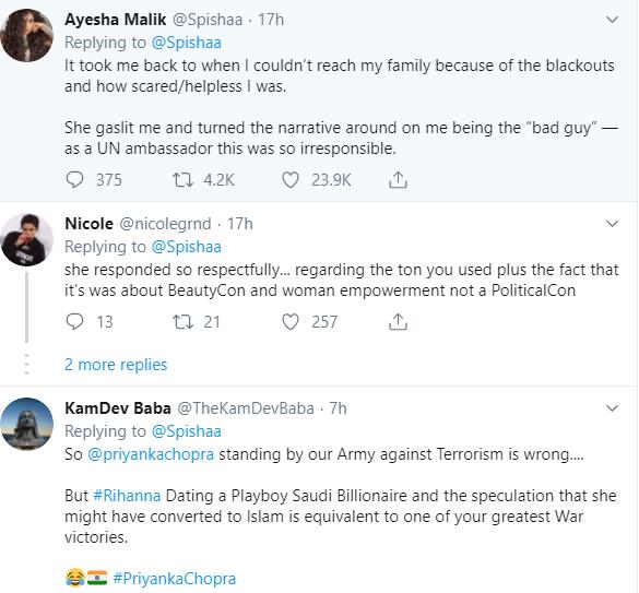 "Pakistani woman yells at Priyanka Chopra and calls her a ""hypocrite"