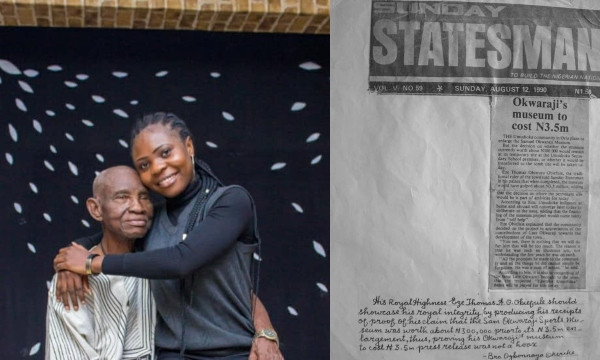 Lady seeks justice for her grandfather who has not been paid, 30 years after designing 186 artworks in celebration of Sam Okwaraji lindaikejisblog