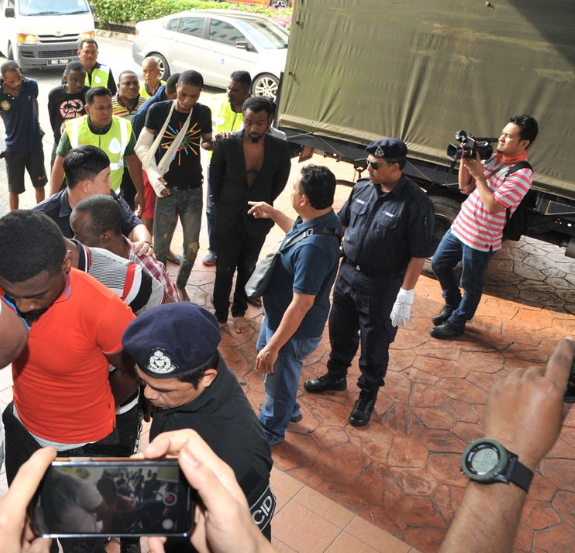 20 Nigerian students arraigned in court for attacking Malaysian cops lindaikejisblog 2