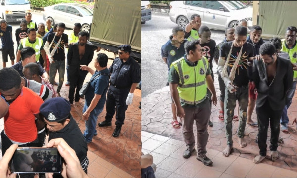 20 Nigerian students arraigned in court for attacking Malaysian cops lindaikejisblog