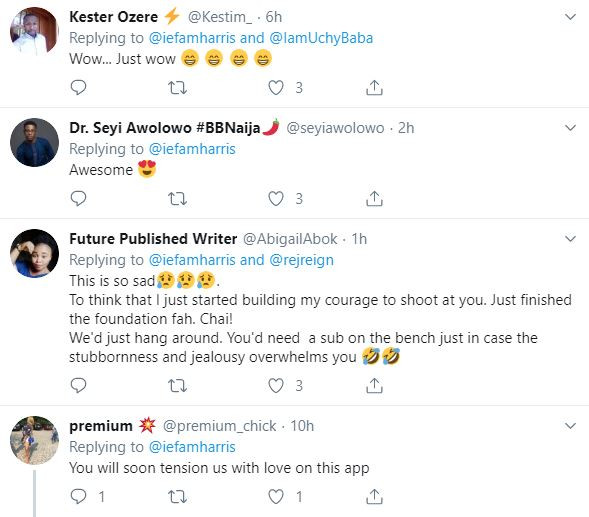 "Twitter goes wild after Nigerian lady shoots her shot at her crush by sending him an email with her CV showing her ""relationship"" qualification"