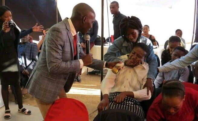 'In God there's liquor, Amstel, Amen'  South African Pastor defends colleague who gave congregants beer during holy communion lindaikejisblog  1