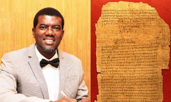 Jesus is not God - Reno Omokri lindaikejisblog