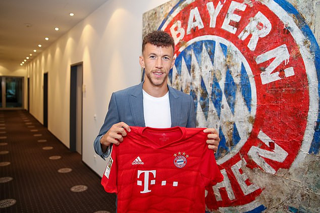 Bayern Munich complete signing of Ivan Perisic from Inter Milan on 4.6m loan