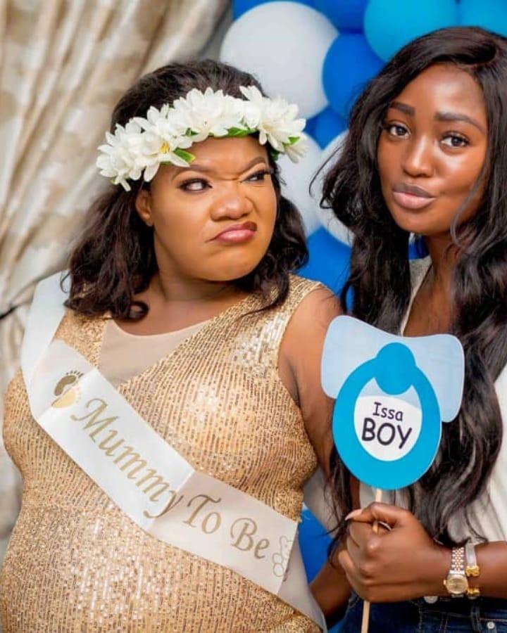 'We had to keep this under wrap for so long' - Fathia Balogun congratulates Toyin Abraham (Photos)