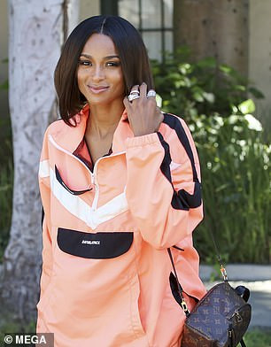 Ciara flaunts her stunning beauty during a photoshoot in LA