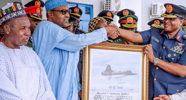 President Buhari commissions Air Force Hospital in Daura lindaikejisblog 4