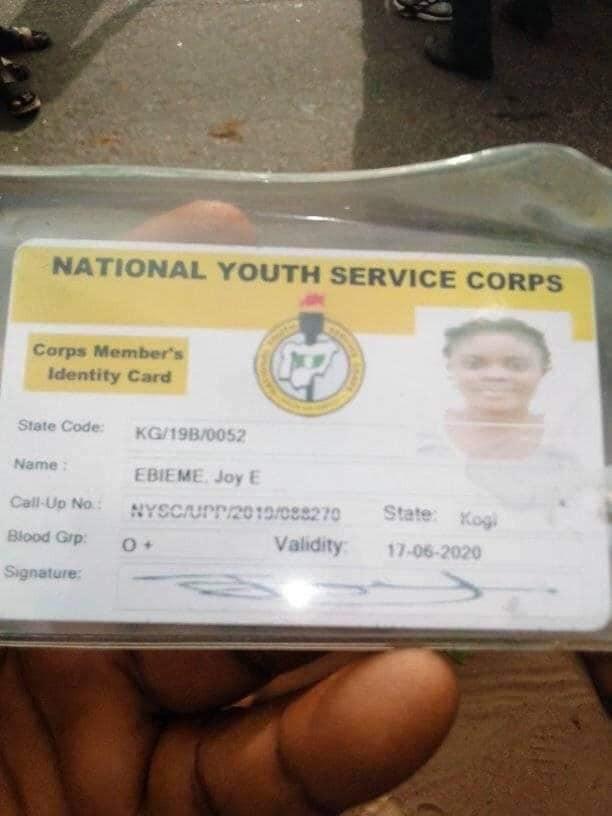 Corps member killed by a truck in Kogi lindaikejisblog 2
