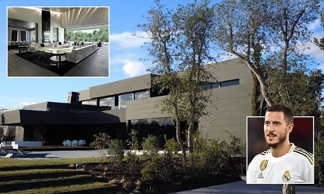 Check out the 10m mansion ex-Chelsea star Eden Hazard just bought in Madrid (Photos)