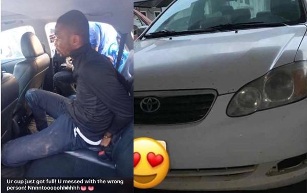 Pastor arrested after snatching Uber driver's car lindaikejisblog
