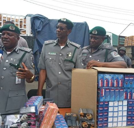 Customs seizes N5b worth of banned tramadol in Lagos (Photos)