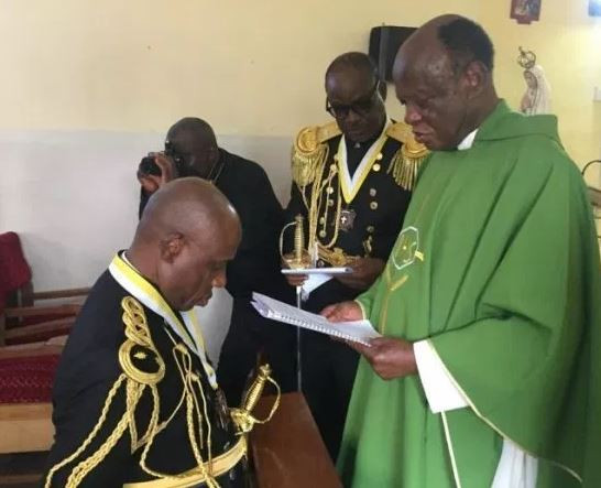 Photo:Rotimi Amaechi promoted to the highest rank in the Catholic Church under the order of the Knights of St. John
