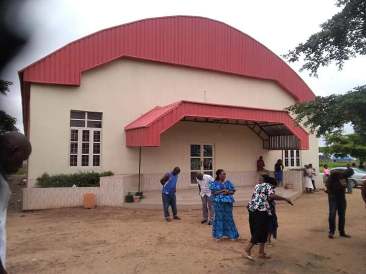 Unidentified young woman raped to death in front of a church in Benue