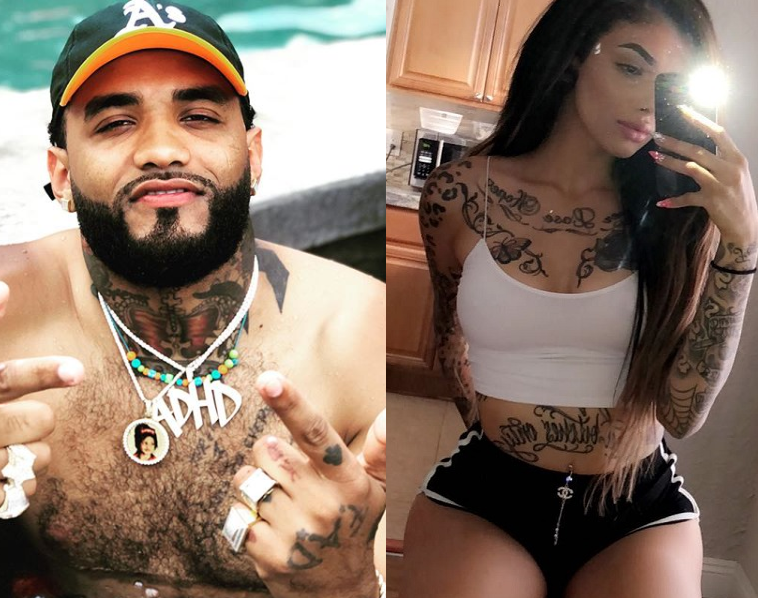I'd douse my own self in gasoline than sleep with you - Rapper, Joyner Lucas exposes popular IG model Celina Powell for trying to get down with him