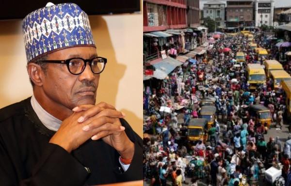 Nigerias population explosion frightening - Buhari lindaikejisblog