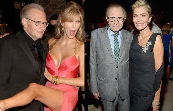 Larry King files for divorce from 7th wife, Shawn King lindaikejisblog
