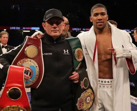 Anthony Joshua speaks on 'sacking' his trainer ahead of Andy Ruiz rematch