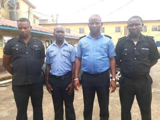 Lagos Police command arrest four officers seen in viral video shooting to unarmed suspects