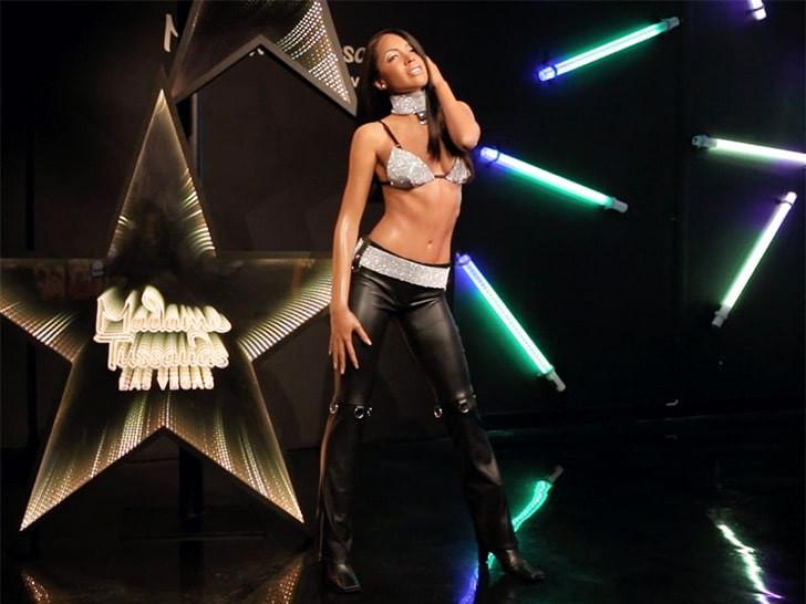 Aaliyah immortalized with a wax figure at Madame Tussauds lindaikejisblog  1