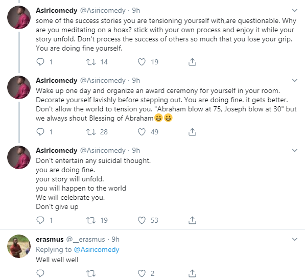 I have intervened in two suicide attempts in the last two weeks - Asiri Comedy lindaikejisblog 3