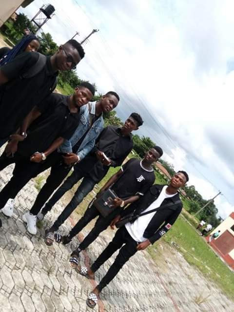 Photos: Niger Delta University students hold procession for colleague shot dead by NSCDC in Bayelsa