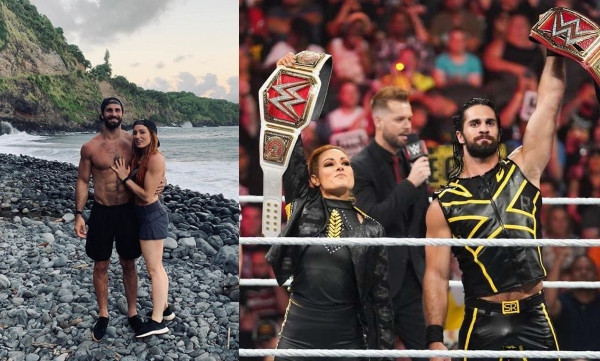WWE's Seth Rollins and Becky Lynch, engaged lindaikejisblog