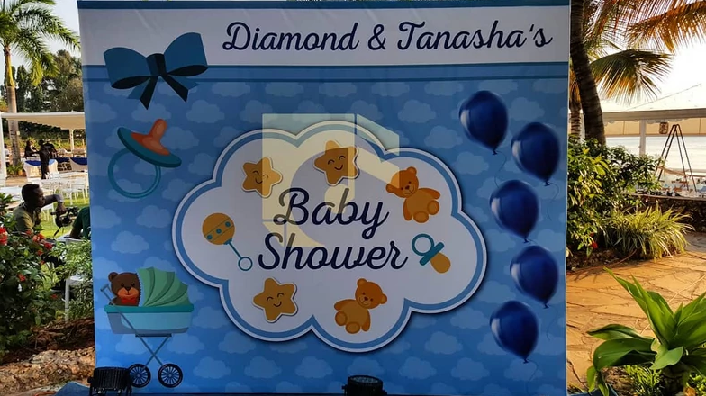Diamond Platnumz and Tanasha Donna hold their baby shower lindaikejisblog 2