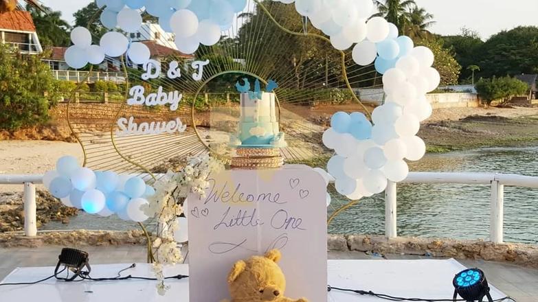 Diamond Platnumz and Tanasha Donna hold their baby shower lindaikejisblog 6