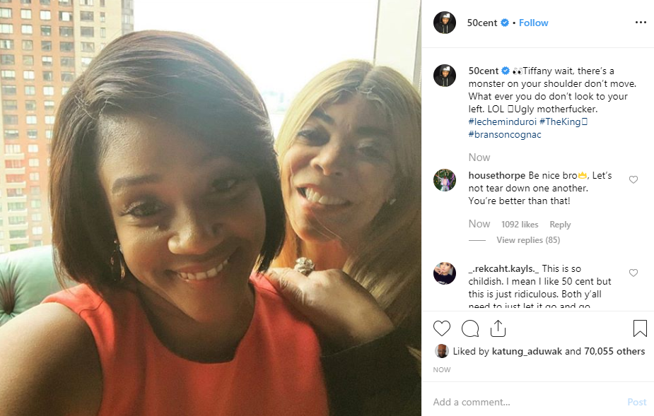 50 Cent says Wendy Williams is a monster lindaikejisblog 1