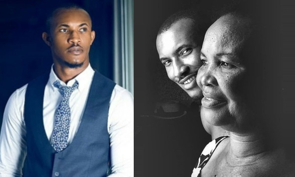 Gideon Okeke celebrates his mother on her birthday, shares 'true' story of how she supported their family after his father's business went down lindaikejisblog