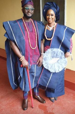 First photos from wedding ceremony of Tee-Y Mix and Ivie Ogbonmwan lindaikejisblog 6