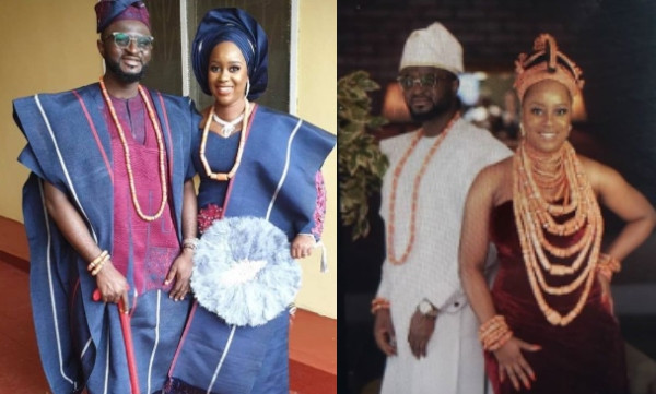 First photos from wedding ceremony of Tee-Y Mix and Ivie Ogbonmwan lindaikejisblog