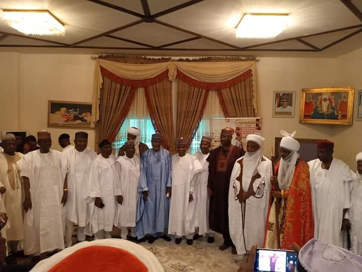 Photos from the wedding ceremony of Sultan of Sokoto's daughter lindaikejisblog 2