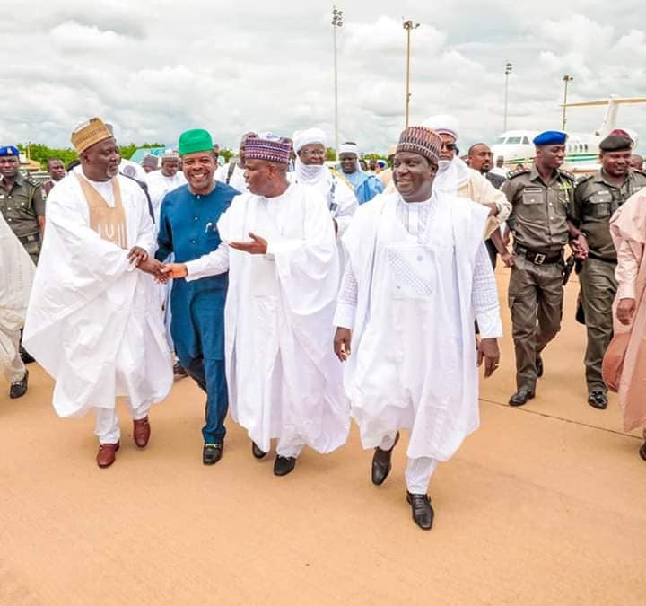 Photos from the wedding ceremony of Sultan of Sokoto's daughter lindaikejisblog 5