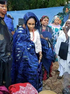Photos from the wedding ceremony of Sultan of Sokoto's daughter lindaikejisblog 12