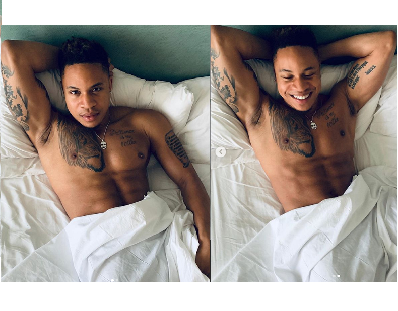 'Power' Star Rotimi Akinosho sends his fans wild with naked bedroom photos