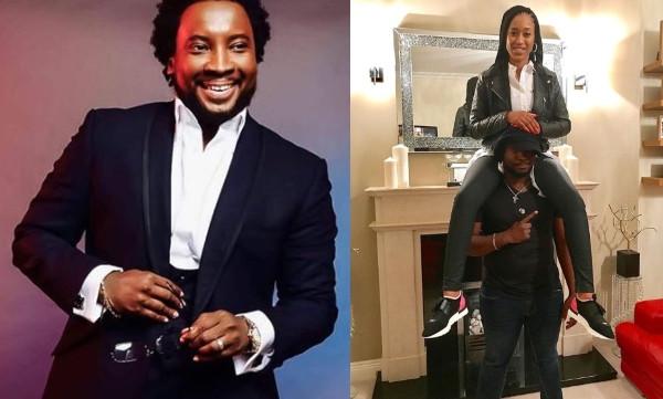 Gospel Singer, Sonnie Badu shares loved up photo with his wife on 5th wedding anniversary lindaikejisblog