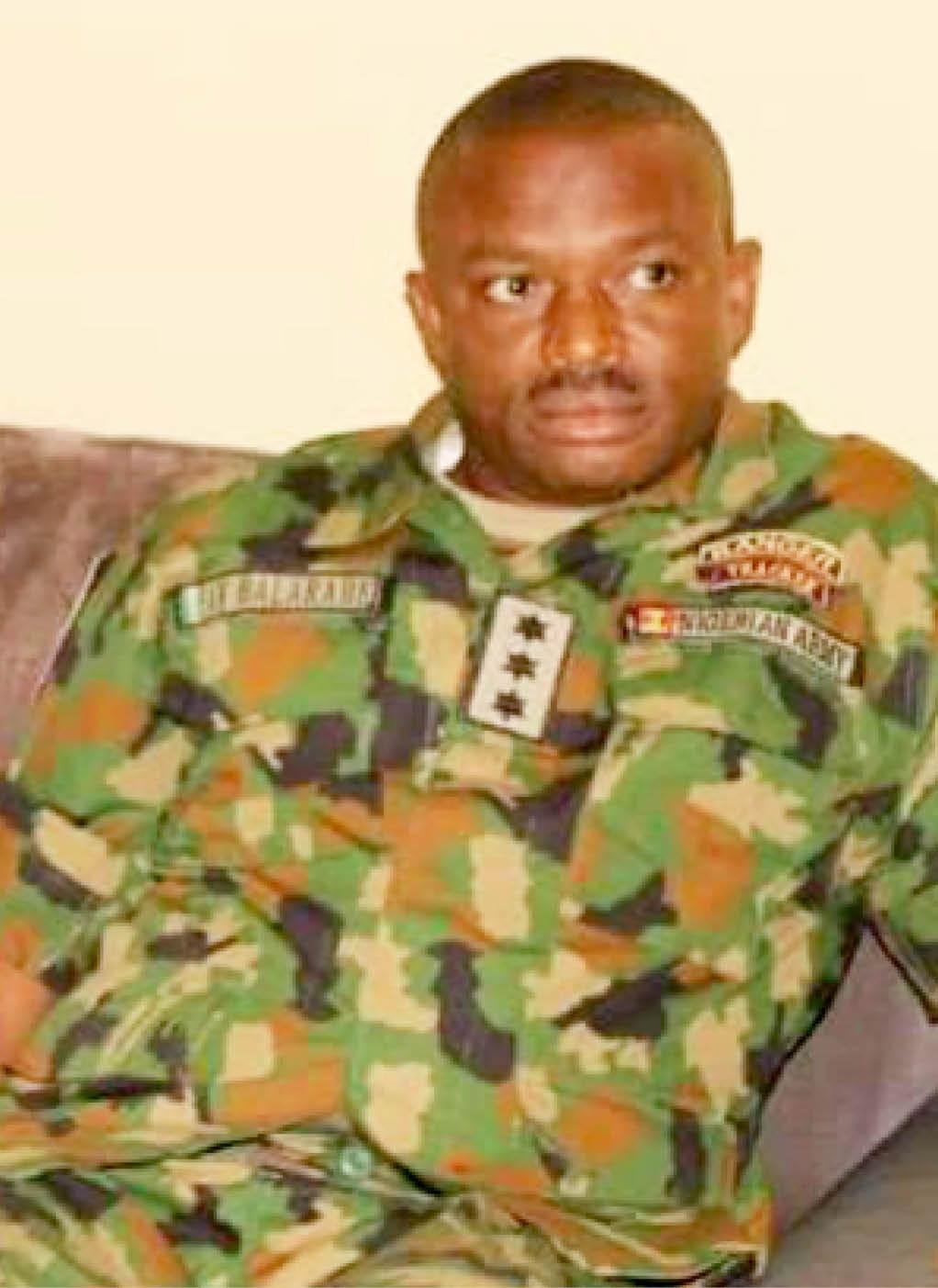 Photos of Army Captain who helped Taraba kidnap king, Hamisu Wadume escape after ordering shooting of policemen lindaikejisblog 3
