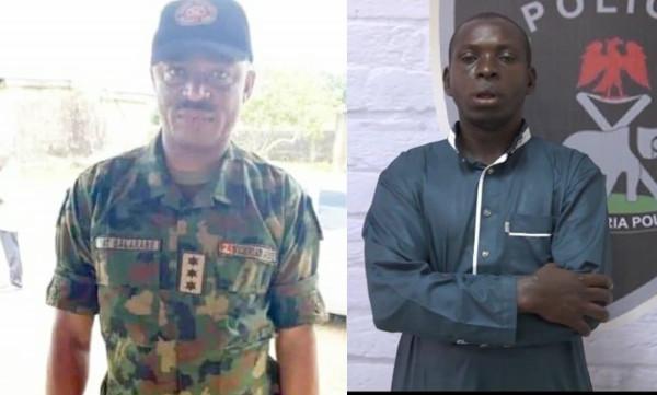 Photos of Army Captain who helped Taraba kidnap king, Hamisu Wadume escape after ordering shooting of policemen lindaikejisblog