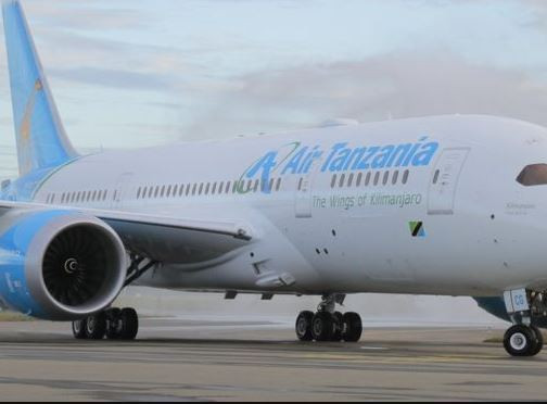 South African government seizes a plane belonging to Air Tanzania in Johannesburg