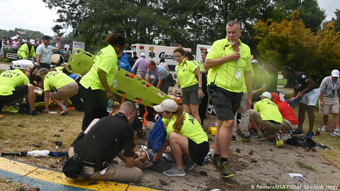 Multiple people struck by lightening at PGA tour championship lindaikejisblog 1