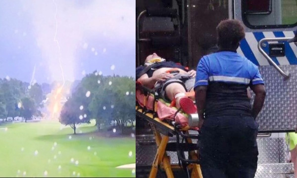 Multiple people struck by lightening at PGA tour championship lindaikejisblog