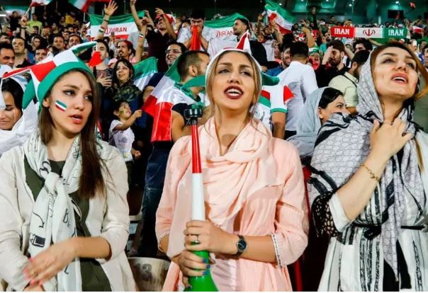 For the first time since 1979, Iranian female fans will be allowed entry into the stadium to watch mens football