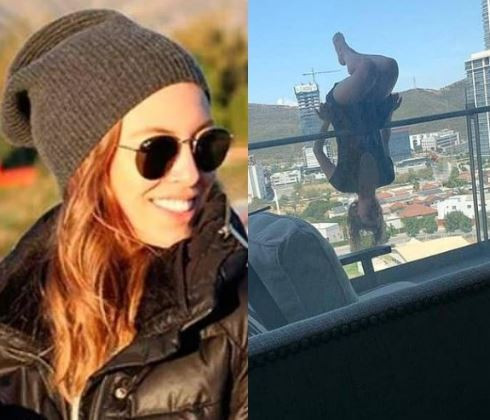 College student badly injured after fallingfrom her 6th floor balcony while attempting an extreme yoga pose
