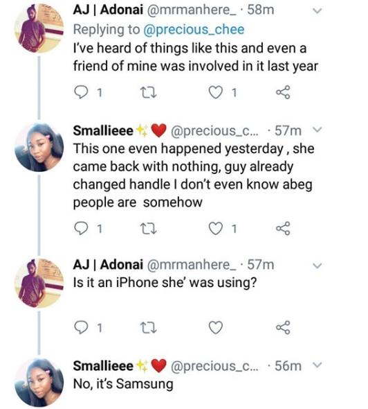 Nigerian lady robbed by man she met on Instagram lindaikejisblog 2