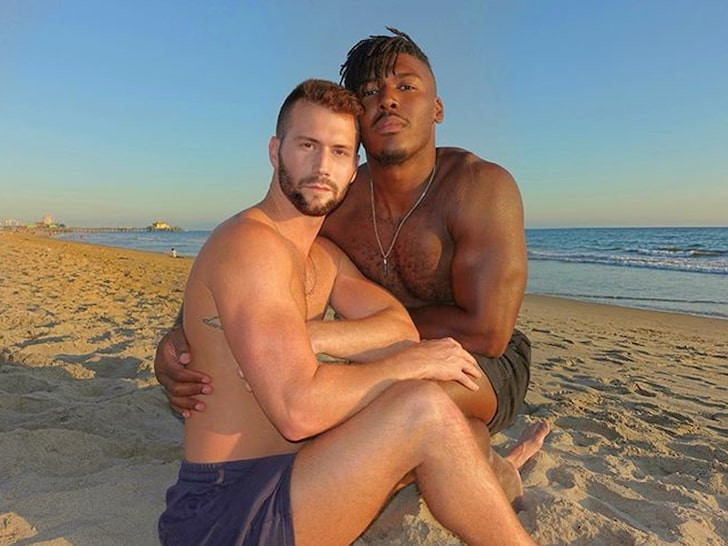 NFL star Ryan Russell announces he's Bisexual, shows off his partner(Photos)