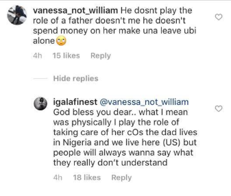 Ubi Franklin's baby mama makes a clarification on what she meant by playing the role of a father and mother lindaikejisblog 1